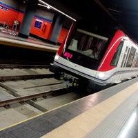 Photo taken at Estacion Eduardo Brito by Ariel E. on 7/18/2014