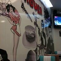 Photo taken at American Music Burger by Luis P. on 12/23/2013
