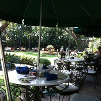 Photo taken at Las Mañanitas Hotel, Garden, Restaurant & Spa by Leonor D. on 10/21/2012
