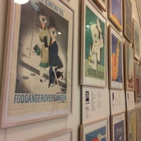 Photo taken at Dansk Plakatmuseum by Jeanette M. on 10/22/2016