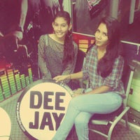 Photo taken at Radio Dee Jay FM by Andrea V. on 9/7/2013