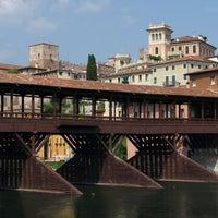 Photo taken at Ponte degli Alpini by Daniele P. on 2/22/2013