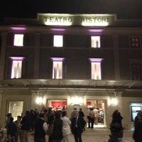 Photo taken at Teatro Ristori by Daniele P. on 9/28/2012