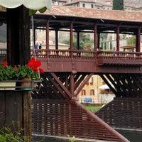 Photo taken at Ponte degli Alpini by Daniele P. on 2/19/2013