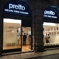 Photo taken at Pretto Gelato Arte Italiana by Daniele P. on 9/27/2012