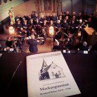 Photo taken at Evangelische Kirche Sulzbach/Ts by A.K. L. on 4/18/2014