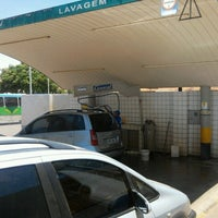 Photo taken at Posto Gasol QNO 5 (BR) by Marcos Augusto on 10/28/2012
