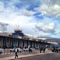 Photo taken at Alejandro Velasco Astete International Airport (CUZ) by Lelex B. on 10/31/2012