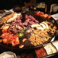 Photo taken at Honey Pig Korean BBQ by Jonathan H. on 3/15/2013