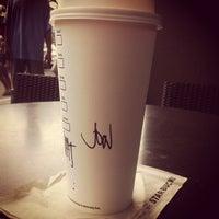 Photo taken at Starbucks Coffee by John S. on 1/25/2013