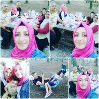 Photo taken at Taşoluk Doğal Park Mesire Alanı by Simge A. on 7/9/2016