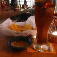 Photo taken at Gusanoz Mexican Restaurant by chris on 7/4/2014