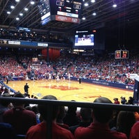 Photo taken at UD Arena by Christina C. on 1/26/2013