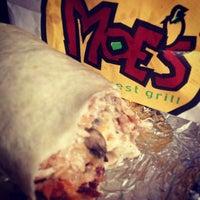 Photo taken at Moe's Southwest Grill by Jordan R. on 12/18/2012