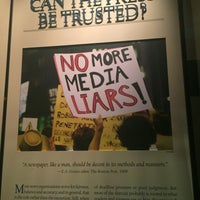 Photo taken at Newseum - Knight Conference Center by Oya Y. on 7/18/2016