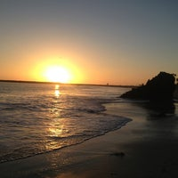 Photo taken at Corona del Mar State Beach by Michael M. on 3/12/2013