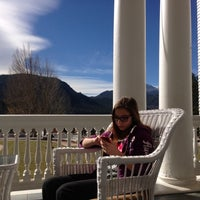 Photo taken at Stanley Hotel by Darren M. on 10/20/2012