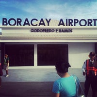 Photo taken at Godofredo P. Ramos Airport (Boracay Airport) / Caticlan Airport (MPH/RPVE) by Kavs C. on 4/10/2013