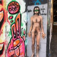 Photo taken at Graffiti Wand by Denis P. on 8/14/2017