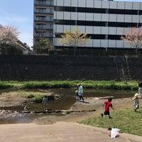 Photo taken at 三沢川親水公園 by Shugo S. on 4/16/2017