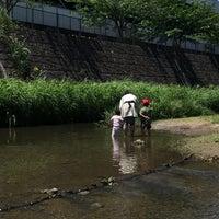 Photo taken at 三沢川親水公園 by Shugo S. on 5/20/2018