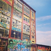 Photo taken at 5 Pointz by Nicole C. on 7/21/2013
