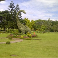Photo taken at Taman Bunga Nusantara by Olivia S. on 1/2/2013
