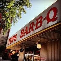 Photo taken at Tops Bar-B-Q by j on 6/12/2013