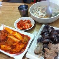 Photo taken at 일류분식 by Jinah K. on 11/20/2012
