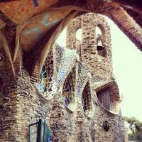 Photo taken at Cripta Gaudí by Albert S. on 2/16/2013