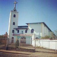 Photo taken at Igreja Nossa Senhora Da Paz by Túlio V. on 5/8/2013
