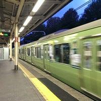 Photo taken at Nishi-nippori Station by yama_kou on 10/22/2013
