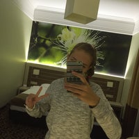Photo taken at Hotel Delfina by Анастасия Ф. on 10/3/2015