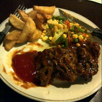 Photo taken at Abuba Steak by iis I. on 9/25/2012