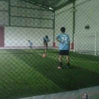 Photo taken at Megha Futsal by hady s. on 3/3/2013