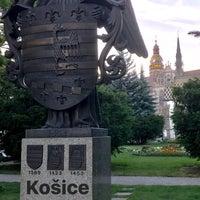 Photo taken at Košice by Ivan P. on 6/3/2017