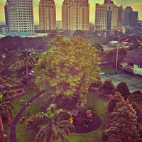 Photo taken at Hotel Borobudur Jakarta by Mirwan M. on 2/9/2013