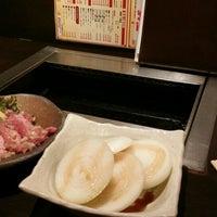 "Photo taken at ""ひらがなの"" 焼肉なんこう園 by み on 10/12/2015"