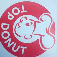 Photo taken at Top Donut by Mary H. on 5/18/2014