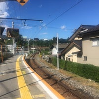 Photo taken at Kiriishi Station by Ta Y. on 9/8/2017