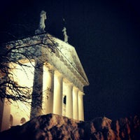Photo taken at Cathedral Square by Julija L. on 1/16/2013