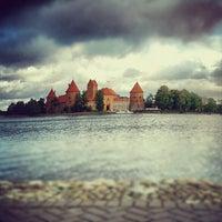 Снимок сделан в Тракайский замок пользователем Julija L. 9/30/2012