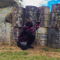 Photo taken at Nitro Paintball by Jay D. on 9/28/2013
