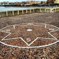 Photo taken at Pontile di Ostia by Mark M. on 12/18/2012