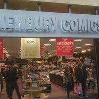 Photo taken at Newbury Comics by Joe S. on 12/26/2012