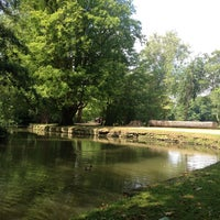 Photo taken at Christ Church Meadow by sofiagk on 7/7/2013