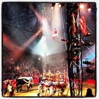 Photo taken at Big Apple Circus by Richard C. on 12/16/2012