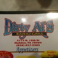 Photo taken at Dirty Al's Bayou Grill by Marco G. on 3/27/2014