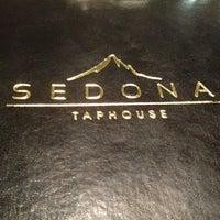 Photo taken at Sedona Taphouse by Trey W. on 7/15/2013