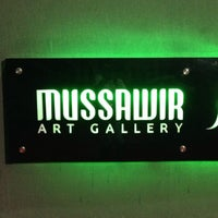 Photo taken at Mussawir Art Gallery by Alpana D. on 1/27/2014